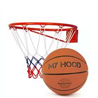 Basketball og tilbehør