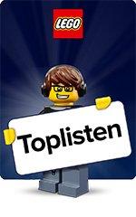 LEGO - Toplisten