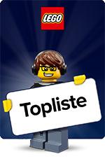 LEGO - Topliste