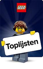 LEGO - Toplijsten