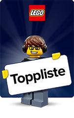 LEGO - Toppliste