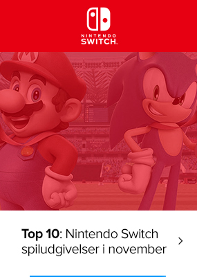 Blog: Top 10: De vildeste Nintendo Switch spiludgivelser i november