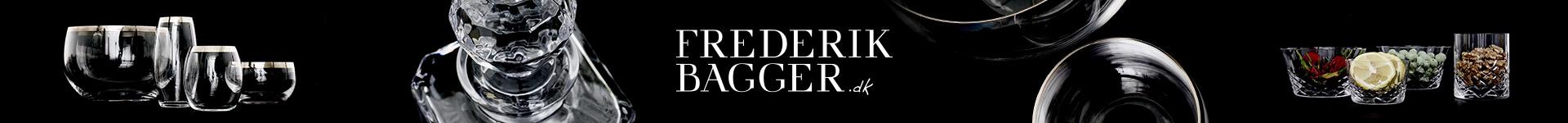 Se Frederik Baggers udsøgte udvalg af glas, skåle, vaser og mere her på Coolshop til billige priser