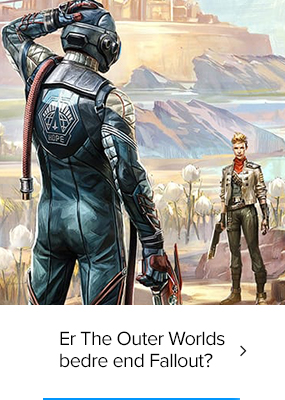 Blog: Er The Outer Worlds bedre end Fallout?