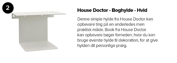 House Doctor - Boghylde - Hvid