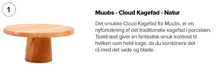 Muubs - Cloud Kagefad - Natur