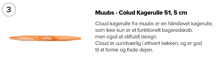 Muubs - Colud Kagerulle 51, 5 cm