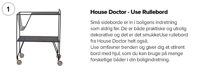 House Doctor - Use Rullebord