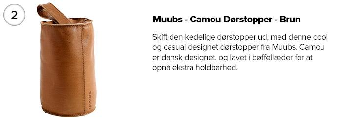 Muubs - Camou Dørstopper - Brun