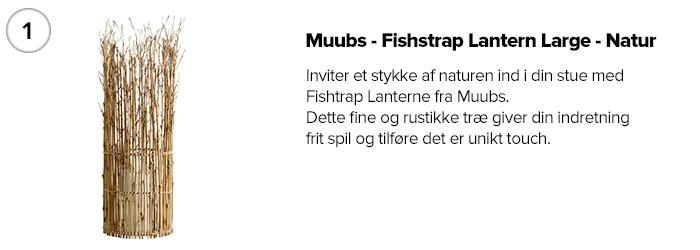 Muubs - Fishstrap Lantern Large - Natur